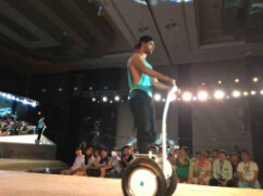 Airwheel self balancing electric scooter 2015 New Product Release Conference Took Place in Changzhou on 18 June.