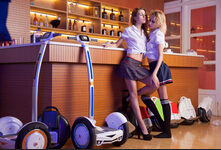 Two Excellent Models of Airwheel S-series Electric Two-wheeled Scooter