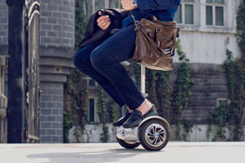 single wheel scooter
