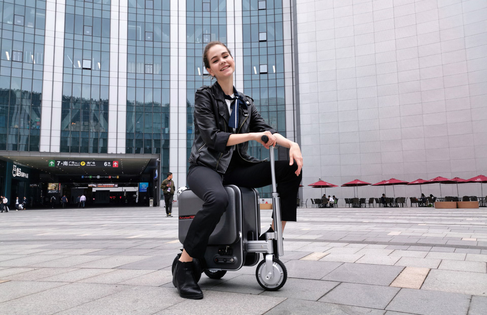 Airwheel SE3 mobility scooter