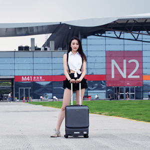 Airwheel SR5 self-driving luggage