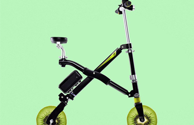 Airwheel E6 foldable bikes with lithium battery